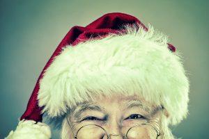 It's Santa! Looking forward to visiting Hollow Trees.